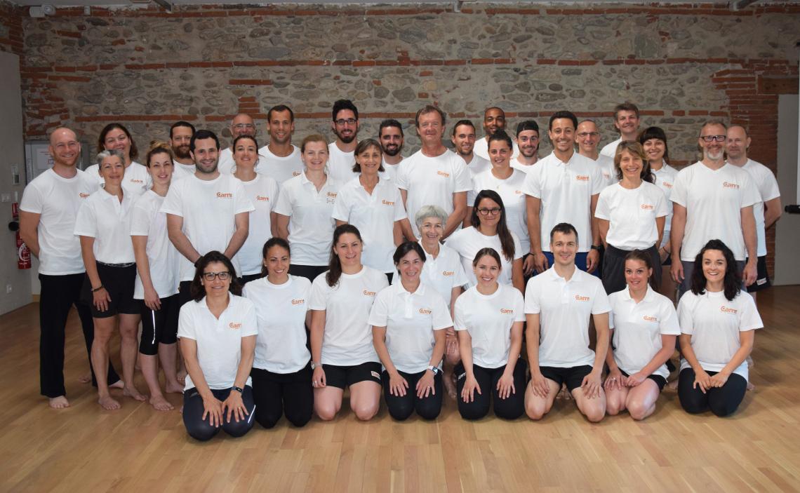 photo d'équipe de la CAMI