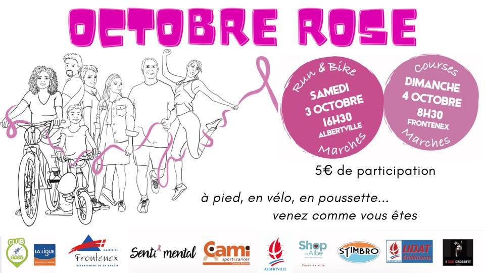 Octobre Rose 2020  -  Albertville